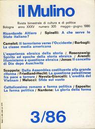 Copertina del fascicolo dell'articolo La forma politica