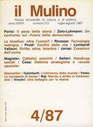 Copertina del fascicolo dell'articolo Creazioni dell'uomo