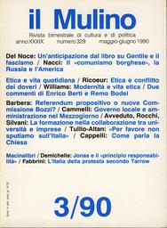 Copertina del fascicolo dell'articolo Due commenti
