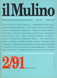 Copertina del fascicolo dell'articolo Il sindacato europeo fra conflitto, scambio politico e partecipazione