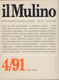 Copertina del fascicolo dell'articolo I giochi dell'Unione politica europea