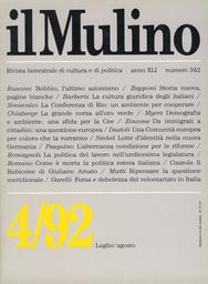 Copertina del fascicolo dell'articolo Il volontariato in Italia. Una forza o una debolezza?