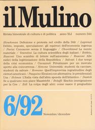 Copertina del fascicolo dell'articolo Rischio immigrazione per la Comunità europea