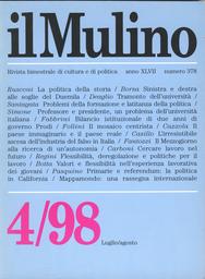 Copertina del fascicolo dell'articolo Il mosaico centrista