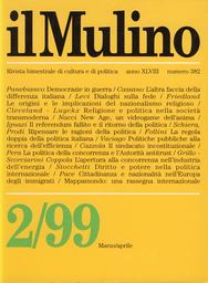 Copertina del fascicolo dell'articolo La differenza italiana ovvero dell'altra faccia della luna
