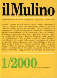 Copertina del fascicolo dell'articolo Le nuove generazioni italiane e il senso della storia