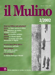Copertina del fascicolo dell'articolo Schede