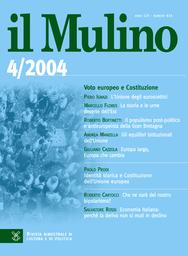 Copertina del fascicolo dell'articolo Identità storica e Costituzione dell'Unione europea