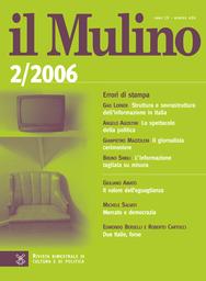 Copertina del fascicolo dell'articolo L'Italia che invecchia e la sindrome di Dorian Gray