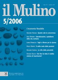 Copertina del fascicolo dell'articolo Liberalizzazioni, capitalismo delle reti, territorio