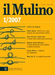 Copertina del fascicolo dell'articolo La fabbrica dei nullafacenti