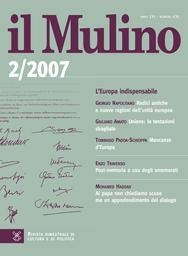 Copertina del fascicolo dell'articolo Un commento a Michele Salvati. Una risposta a Corsi e Roncaglia