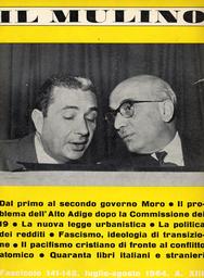 Copertina del fascicolo dell'articolo Il problema dell'Alto Adige dopo la Commissione dei 19