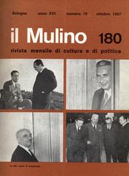 Copertina del fascicolo dell'articolo Una proposta politica