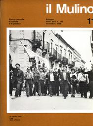 Copertina del fascicolo dell'articolo Analisi e prospettive del Movimento Studentesco: i pareri di Mario Capanna, Pier Enrico Andreoni, Renato Mannheimer e del Gruppo Anti Gruppo