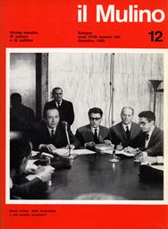 Copertina del fascicolo dell'articolo L'occasione e la minaccia