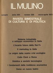 Copertina del fascicolo dell'articolo Estetica e società tecnologica. Marshall McLuhan