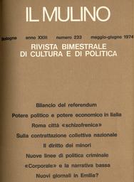 Copertina del fascicolo dell'articolo Un dibattito sui cattolici comunisti