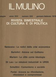 Copertina del fascicolo dell'articolo Le relazioni industriali nei paesi socialisti