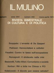 Copertina del fascicolo dell'articolo Comunismo e società