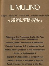 Copertina del fascicolo dell'articolo Federconsorzi: cooperativa, holding finanziaria o impero da lottizzare?