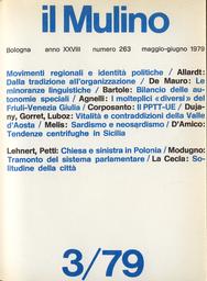 Copertina del fascicolo dell'articolo Passato e presente delle Autonomie speciali
