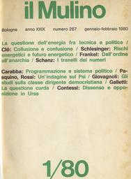 Copertina del fascicolo dell'articolo Urss: il clamore del dissenso e il silenzio dell'opposizione